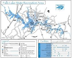 falls lake bw has a 1 mile loop falls lake trail
