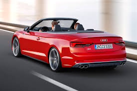 used audi r5 2017 audi s5 and a5 cabriolet chop their tops at la by car magazine