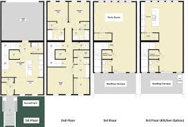 house plans with elevators three house plans 3 storey for small lots no basement in the