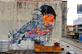 flying to freedom 10 street artists who love to paint birds street art mural bird bird mural street art