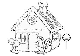 superb gingerbread houses coloring pages 11 free printable