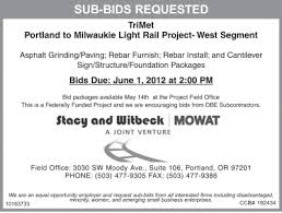 Seeking Sub And Witbeck Daily Journal Of Commerce