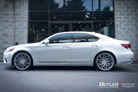 lexus wheels ls 460 lexus ls460 with 22in savini bm13 wheels exclusively from butler