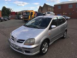nissan almera fuel consumption nissan almera tino automatic good runner with history and long mot