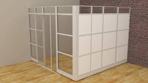 room dividers glass walls cubicle panels modular office cubicles
