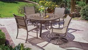 Solid Cast Aluminum Patio Furniture by Winston Patio Furniture Lowest Prices Patiosusa Com
