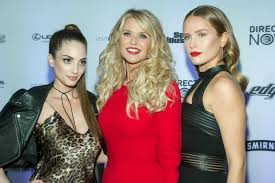 christie brinkley christie brinkley slays with daughters at si swimsuit event