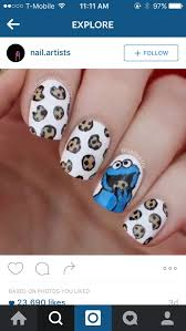 best 25 monster nails ideas on pinterest cookie monster nails