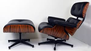 charles eames style leather lounge chair specialist furniture
