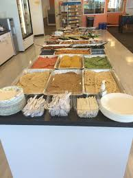 make your own buffet table dror catering make your own burrito buffet dror catering