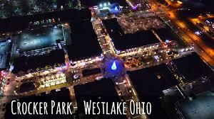 crocker park tree lighting 2017 crocker park christmas tree and lights from above december 2015