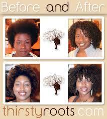 curly wavy natural black hair