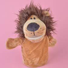 lion puppet nici forest animals lion puppet plush stuffed baby kids