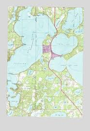 minnesota topographic map gull lake mn topographic map topoquest