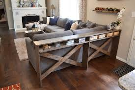 Sofa Table Decor by Farmhouse Sofa Table Ideas