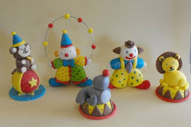 circus cake toppers edible circus clowns and animals cake toppers animal cakes