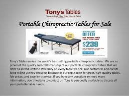 best portable chiropractic table portable chiropractic tables for sale 1 638 jpg cb 1404279046