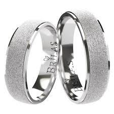 snubni prsteny glint white snubní prsteny matné bílé zlato brilas