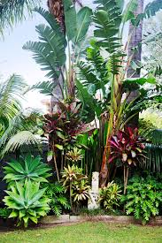 We Were Influenced By The Many Lush Tropical Gardens In Our