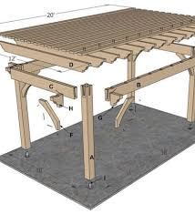 Pergola Plans Free Download by Woodworking Pergola Plans Roof Pdf Free Download Pergola Roof