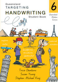 targeting handwriting qld student book year 6 pascal press