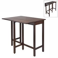 winsome wood 94149 lynnwood drop leaf counter height table