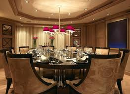 luxury modern dining room with large space and contemporary igf usa
