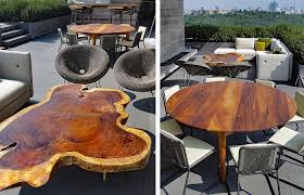 amazing parota wood outdoor furniture highquality modern design