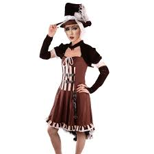 steampunk costume for gothic costume party