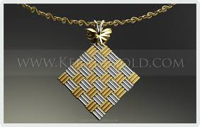 design necklace pendant images Kerala gold jewellery design pendant 13 jpg