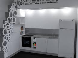 cuisine incorporé plan 3d cuisine aménagée sur mesure acn à rennes