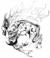 cool ink tattoos designs flame tattoos