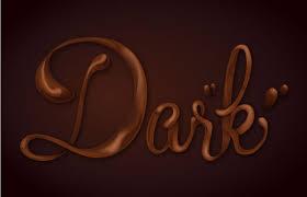 vector typography tutorial how sweet chocolate text vector effect tutorial vectips