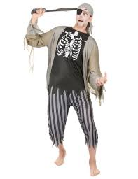 Halloween Costume Of A Zombie Pirate