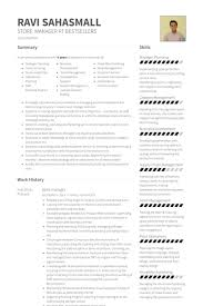 Pharmacy Manager Resume Sample by Store Manager Resume Samples Visualcv Resume Samples Database
