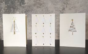 how to make last minute diy christmas cards in 3 easy steps