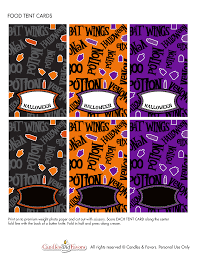 venom and potions free halloween party printables catch my party