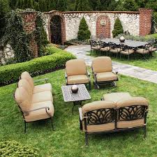 Patio Furniture Review Blogs Here U0027s A Review Of Cast Aluminum U0026 Extruded Aluminum