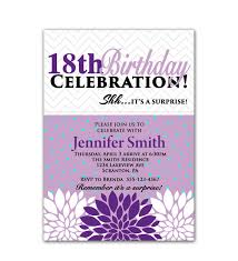 20 staggering 18th birthday invitations theruntime