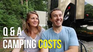 How Much Does Southern Comfort Cost How Much Do Campgrounds Cost For Rv Living Youtube