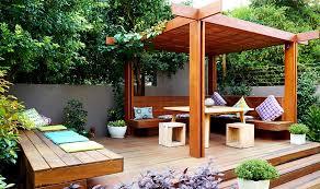 Gardens Design Ideas Photos Beautiful And Shady Home Garden Design Ideas Also Wood Pergola