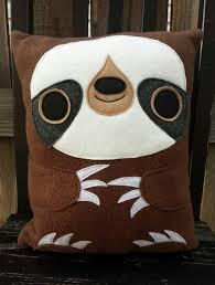 Pillow Store Sloth Pillow Heart Felt Designs Online Store Powered By Storenvy