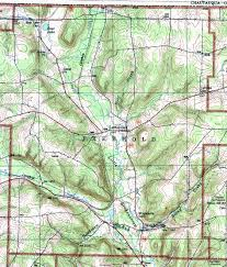 Topographic Map Of Ohio by Warren County Pennsylvania Township Maps