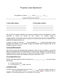 land lease agreement template rental lease agreement template real estate forms