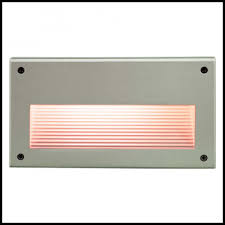 step light recessed lens incandescent 120 volt stair and step