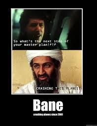 Dark Knight Joker Meme - bane crashing planes since 2001 dark knight meme quickmeme