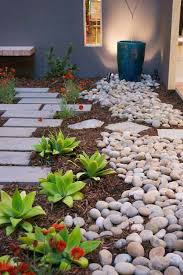 20 creative ideas adding river rocks for a beautifully decorated