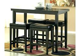 sofa table with stools underneath console table with ottomans underneath console tables with ottomans