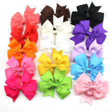 boutique hair bows tinksky 15 colors 3 inch boutique hair bows kids alligator