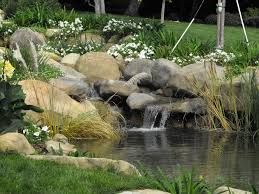 amazing waterfall design for similiar raised fish ponds designs